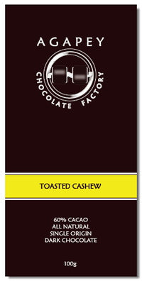 Agapey Chocolate Toasted Cashew 100g