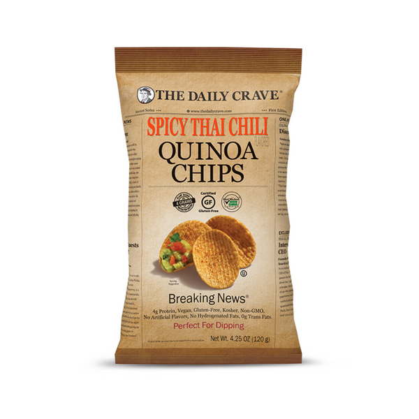 The Daily Crave Spicy Thai Chili Quinoa Chips