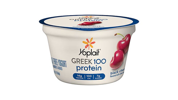 Yoplait Greek 100 Black Cherry 5.3oz