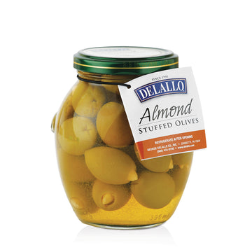 Delallo Almond Stuffed Olives