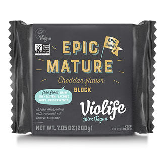 Violife Vegan Epic Cheddar Block 7.05oz
