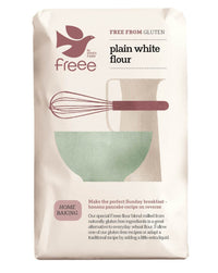 Doves Farm Freee Plain White Flour 1KG