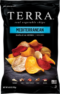 Terra Exotic Vegetable Mediterranean Chips 5 oz.