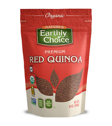 Nature's Earthly Choice Organic Red Quinoa 340 g