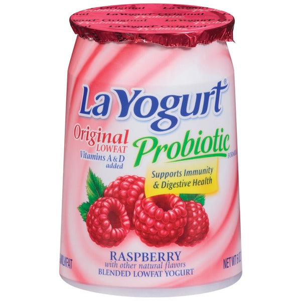 La Yogurt Raspberry 6 oz