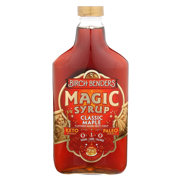 Birch Benders Classic Maple Monk Fruit Syrup 13flz