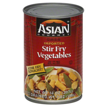 Asian Gourmet Stir Fry Vegetables 14oz