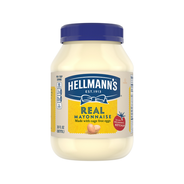 Hellmann's Real Mayonnaise 30oz