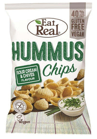 Eat Real Sour Cream Chives Hummus Chips 135g