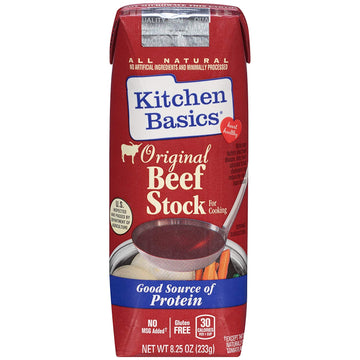 Kitchen Basics Beef Stock Original 8.25 oz