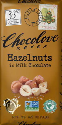 ChocoLove Milk Chocolate & Hazelnut