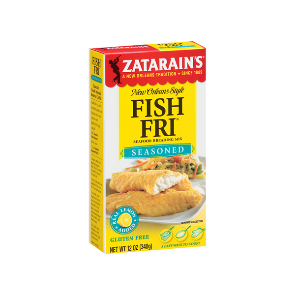 Zatarain's Seasoned Fish Fry 12oz