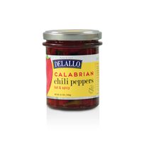 Delallo Calabrian Chili Peppers in Jar 6.7 oz