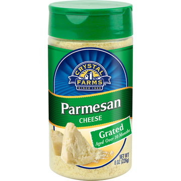 Crystal Farms Parmesan Shaker 8 oz