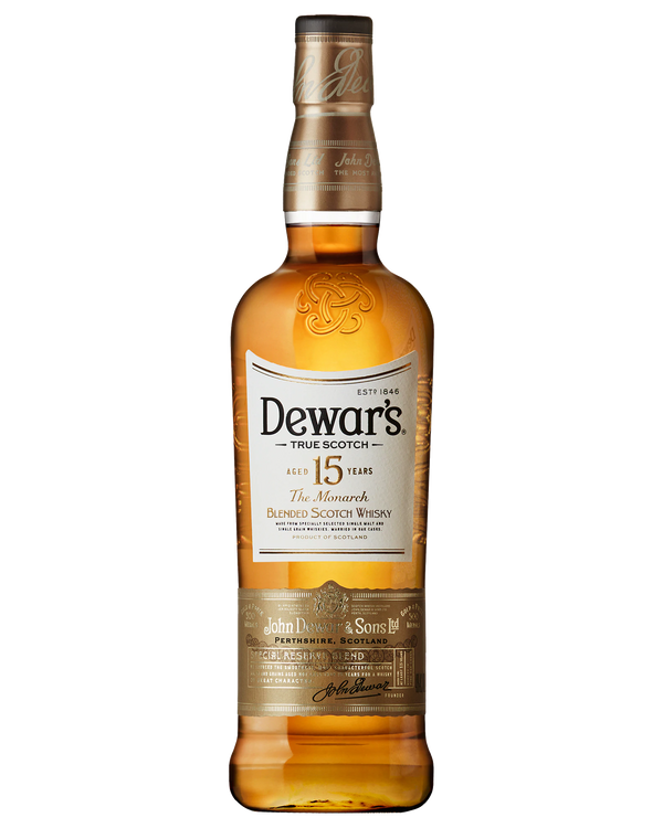 Dewar's The Monarch Blended Scotch Whisky Aged 15 Years 750 ml