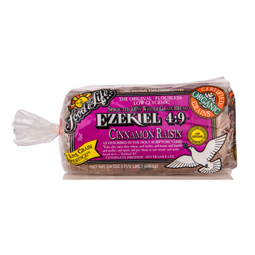Food For Life Ezekiel 4:9 Cinnamon & Raisin Bread