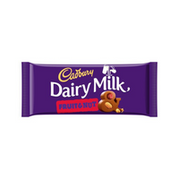 Cadbury Dairy Milk Fruit & Nut 110 g