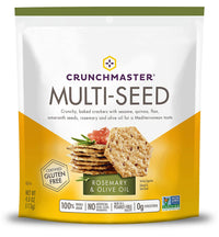 CrunchMaster Multi-seed Rosemary & Olive Oil Crackers 4.oz