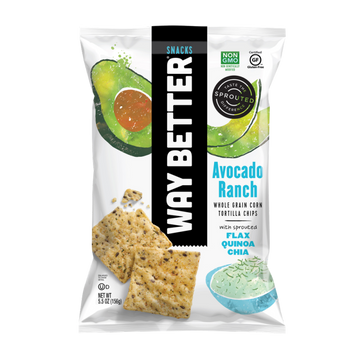 Way Better Avocado Ranch Tortilla Chips