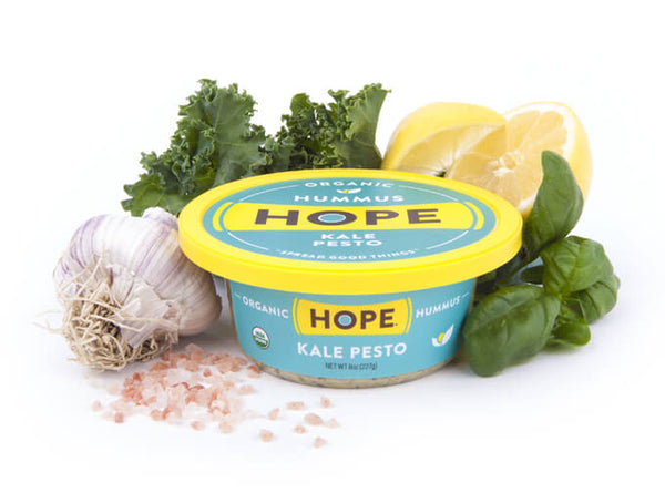 Hope Hummus Kale Pesto