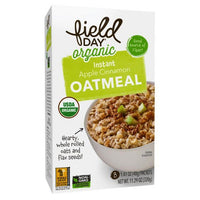 Field Day Apple Cinnamon Instant Oatmeal 11.3 oz