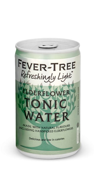 Fever Tree Refreshingly Light Elderflower Tonic Water 150ml