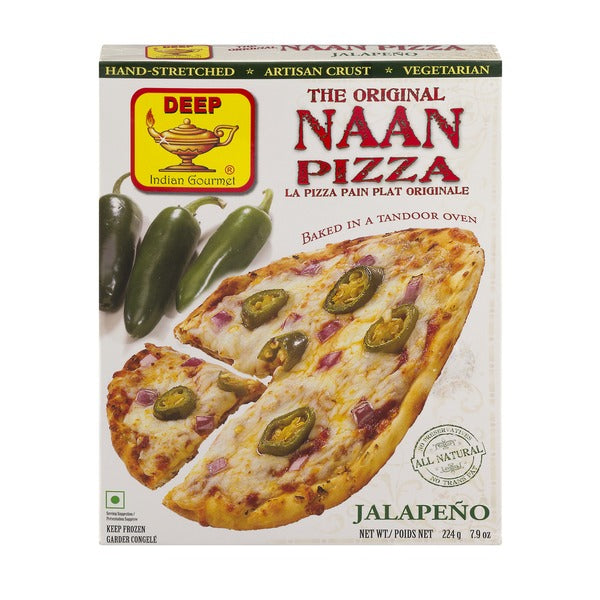 Pizza Naan Jalepeno