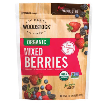 Woodstock Frozen Mixed Berries 32 oz.