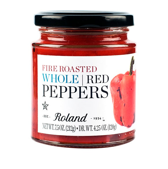 Roland Whole Roasted Red Peppers 7.5 oz