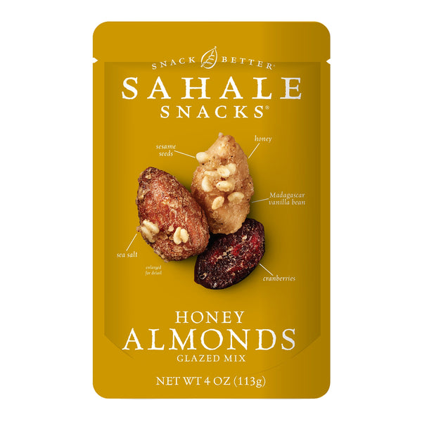 Sahale Honey Glazed Almond Nuts 4 oz.