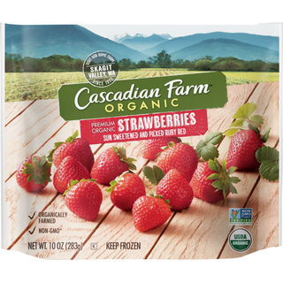 Cascadian Farm Organic Strawberries 10oz