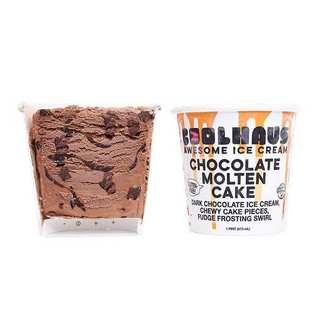 Coolhaus Chocolate Molten Cake Icecream