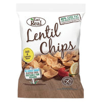 Eat Real Chilli & Lemon Lentil Chip 40g