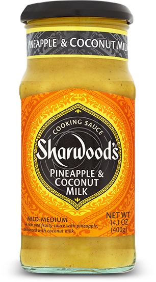 Sharwood's Pineapple Coconut Cooking Sauce