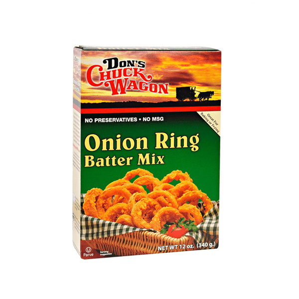 Don's Chuck Wagon Onion Ring Batter Mix 12oz