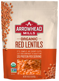 Arrowhead Mills Organic Red Lentils 16 oz.