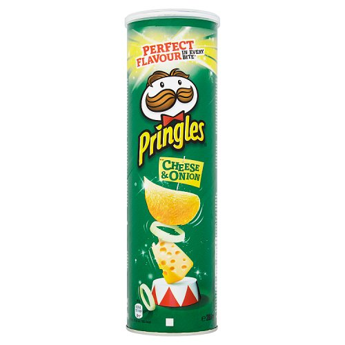 Pringles Stack n Share Cheese & Onion 200g