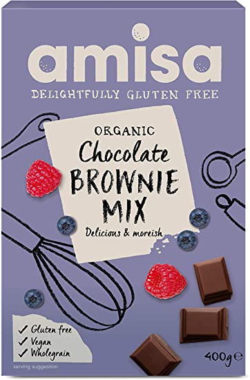 Amisa Gluten Free Chocolate Brownies 400g
