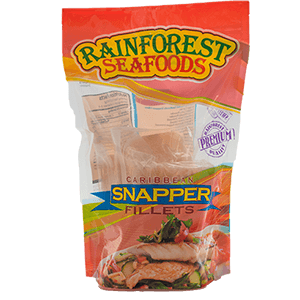 Rainforest Caribbean Snapper Fillet 1lb