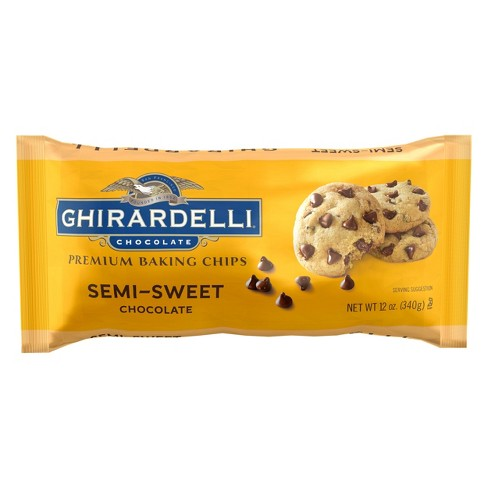 Ghirardelli Semi-Sweet Chocolate Chips 12 oz