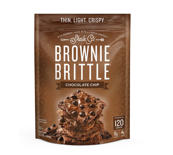 Brownie Brittle Chocolate Chip 5 oz