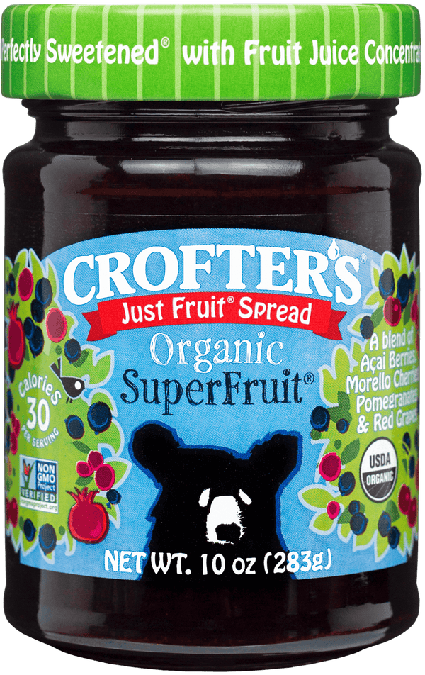 Crofter's Just Fruit Spread Super Fruit  10oz