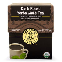 Buddha Teas Dark Roast Yerba Mate 18 bag