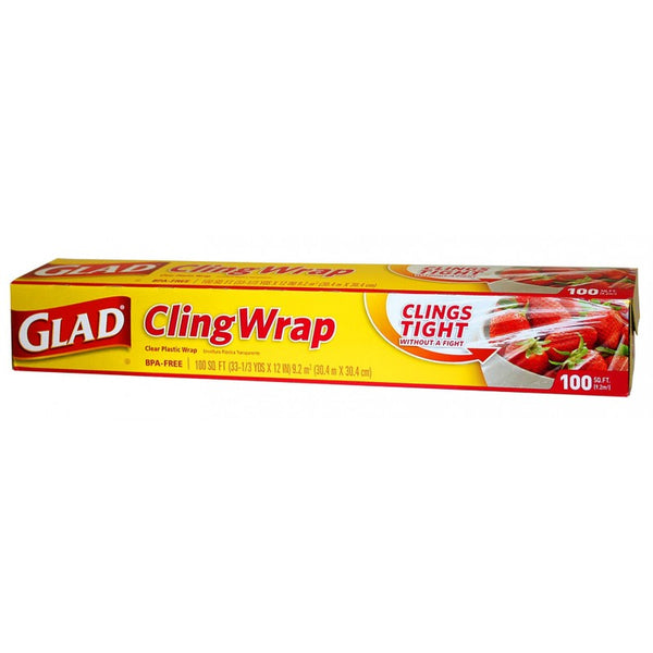 Glad Cling Wrap 100ft