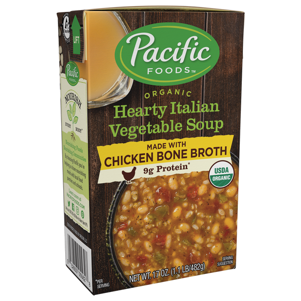Pacific Italian Veg Soup w/ Chicken Bone Broth