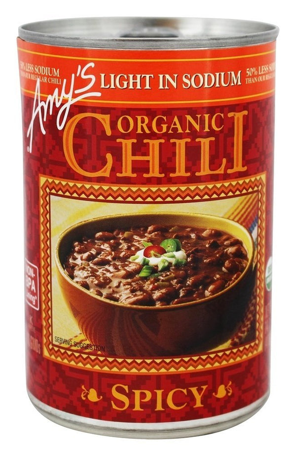Amy's Spicy Chili Low Sodium 14.7 oz