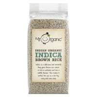 Mr. Organic Indica Brown Rice 500g