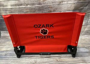 Ozark Red Stadium Chair