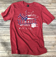 Load image into Gallery viewer, Ozark Flag & Fireworks T-Shirt