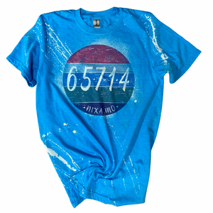 65714 Nixa, MO Bleach Wash Tee